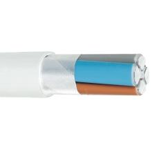 Kabel AXQ-AL-M 4x25 halogenfri T500 (massiv sektorformet)