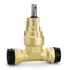 AVK 40 mm messingventil med PRK-koblinger, PN16