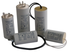 Kondensator RPC24512K-P 450V 12uF, M8 og 250 mm kabel