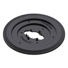 AVK 390 mm universal plast bæreplade til dæksler