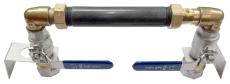 400 mm komplet målerbrønd med 32 mm rustfri ventilsæt og kon