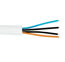 Signalkabel PT-HF 1x2x0,6 hvid halogenfri S100