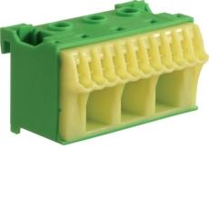 Klemblok PE 3+11 gul/grøn QC KN14E