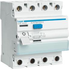 Fejlstrømsafbryder HPFI 4P 40A 30mA type A CDA440K