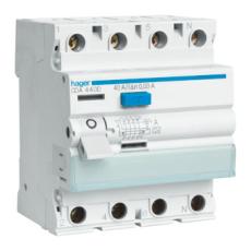 Fejlstrømsafbryder HPFI 4P 63A 30mA type A CDA463K