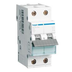 Automatsikring 1P+N C 10A 6kA 2M MCN510E