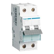 Automatsikring 1P+N C 16A 6kA 2M MCN516E