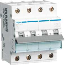 Automatsikring 3P+N C 32A 6kA 4M MCN632E