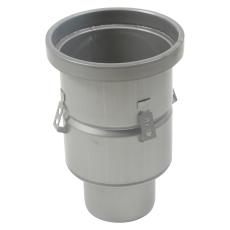 Industriafløb-gulv: epoxy-ramme: ø195mm-udløb: ø110 mm lodre
