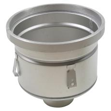 Industriafløb, lav-gulv: epoxy-ramme: ø295mm-udløb: ø110 mm