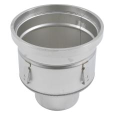 Industriafløb, lav-gulv: epoxy-ramme: ø295mm-udløb: ø160 mm