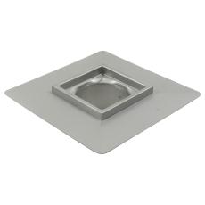Overdel, lav-gulv: beton og fliser-ramme: 200 x 200 mm-syref