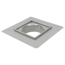 Overdel, lav-gulv: beton og fliser-ramme: 300x300 mm-syrefas