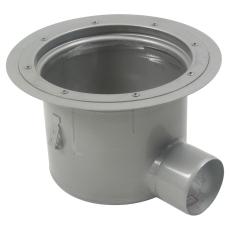 Industriafløb-gulv: vinyl-ramme: ø332 mm-udløb: ø110 mm, van