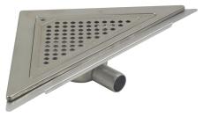 Blücher 32 mm hjørneafløb til smøremembran, uden studs, vand