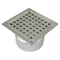 Boligafløb square-gulv: beton og fliser-ramme: 145 x 145 mm