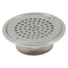 Overdel circle-med bærering til vandlås-gulv:epoxy-ramme: ø1