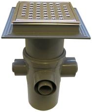 Maxiflex 110 mm afløbsskål til beton, med studs, lodret