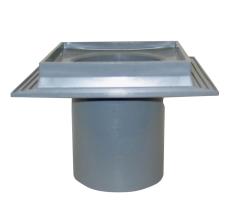 Maxiflex 110 mm afløbsskål til beton, uden studs og rist, lo