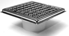 HF Hansen firkantet rist/overdel til klinkegulv 155 x 155 x