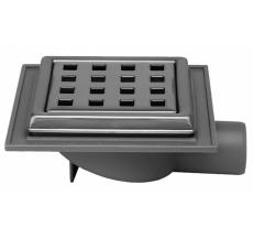 Maxiflex 32 mm afløbsskål til beton, uden studs, vandret