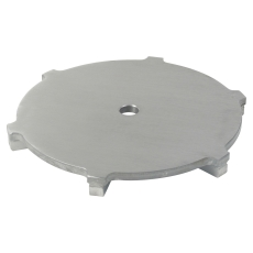 Spalterist circle-rist: ø273 mm-syrefast stål: aisi316l/en1.