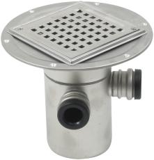 Blücher 110 mm afløbsskål til smøremembran, med studs, lodre