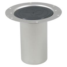 Overdel circle, forlænget-uden bærering-gulv: vinyl-syrefast
