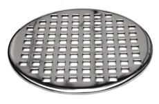 200 mm Rund stålrist uden udskæring