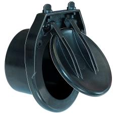 Kessel 250 mm rørspjæld til drænvand