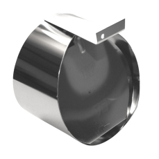 HF 150 mm rustfri rottespærre til betonrør, tilløb