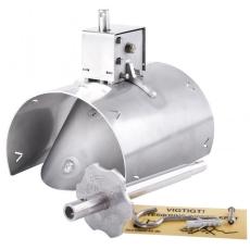 Lauridsen 110 mm rustfri rottespærre, universal, til-/afløb