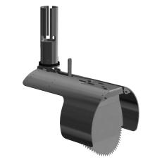 Nordisk Innovation 134-138 mm rustfri rottespærre, special
