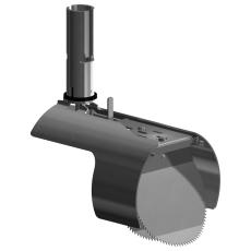Nordisk Innovation 150/160 mm rustfri rottespærre, universal