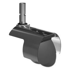 Nordisk Innovation 200 mm rustfri rottespærre t/PVC, univers