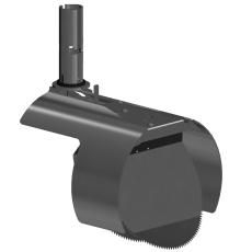 Nordisk Innovation 200 mm rustfri rottespærre t/beton, unive