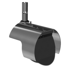 Nordisk Innovation 250 mm rustfri rottespærre t/Rib2, univer