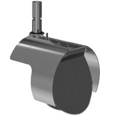 Nordisk Innovation 250 mm rustfri rottespærre t/beton, unive