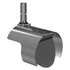 Nordisk Innovation 250 mm rottespærre t/strømpeforet Rib2 rø