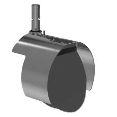 Nordisk Innovation 300/315 mm rustfri rottespærre til beton/