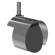 Nordisk Innovation 315 mm rottespærre t/strømpeforet Rib2 rø
