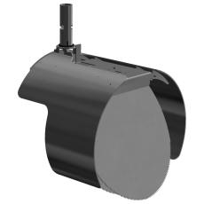 Nordisk Innovation 350/400 mm rustfri rottespærre t/beton/Ri