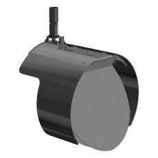 Nordisk Innovation 400 mm rustfri rottespærre t/PVC, univers