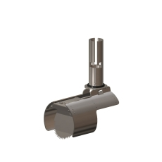 Nordisk Innovation 100/110 mm rustfri rottespærre, mini