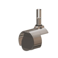 Nordisk Innovation 150/160 mm rustfri rottespærre, mini