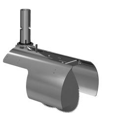 Nordisk Innovation 200 mm rottespærre t/strømpeforet PVC-rør