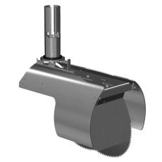 Nordisk Innovation 200 mm rustfri rottespærre t/Rib2, univer