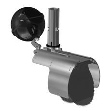 Nordisk Innovation 150/160mm rustfri rottespærre, flow