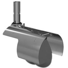 Nordisk Innovation 200 mm rustfri rottespærre t/Pipelife brø