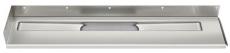 Unidrain 700 mm rendeafløbsarmatur, venstre-bagvæg